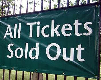 Keine Tickets mehr