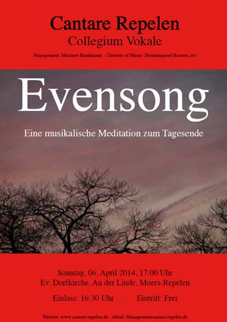 Evensong 2014