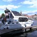 """""""Belone"""" im Hafen von Blokzijl"""