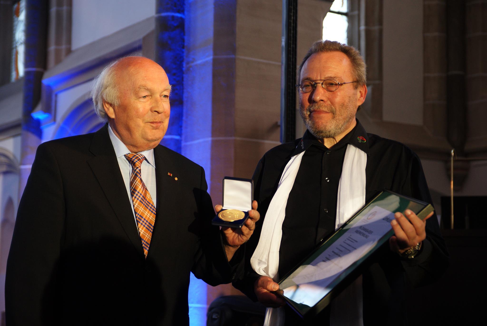 Ehrenpräsident Hermann Otto gestorben