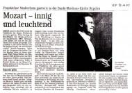 Rezension der Rheinischen Post vom 25.11.2003